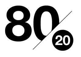 Vivre sa vie selon ses propres règles : vivre la vie du 80/20, 5 façons d'accomplir plus avec moins